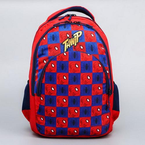 """Рюкзак школьный с эргономичной спинкой """"Человек паук""""– купить в интернет-магазине по низкой цене"""